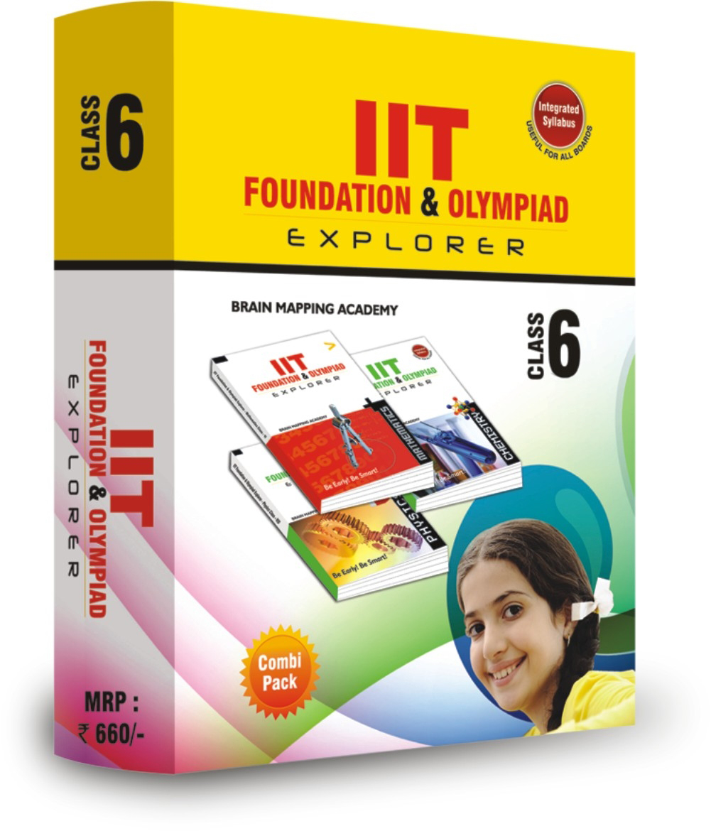 COMBI PACK – IIT & NEET Foundation for Class – 6