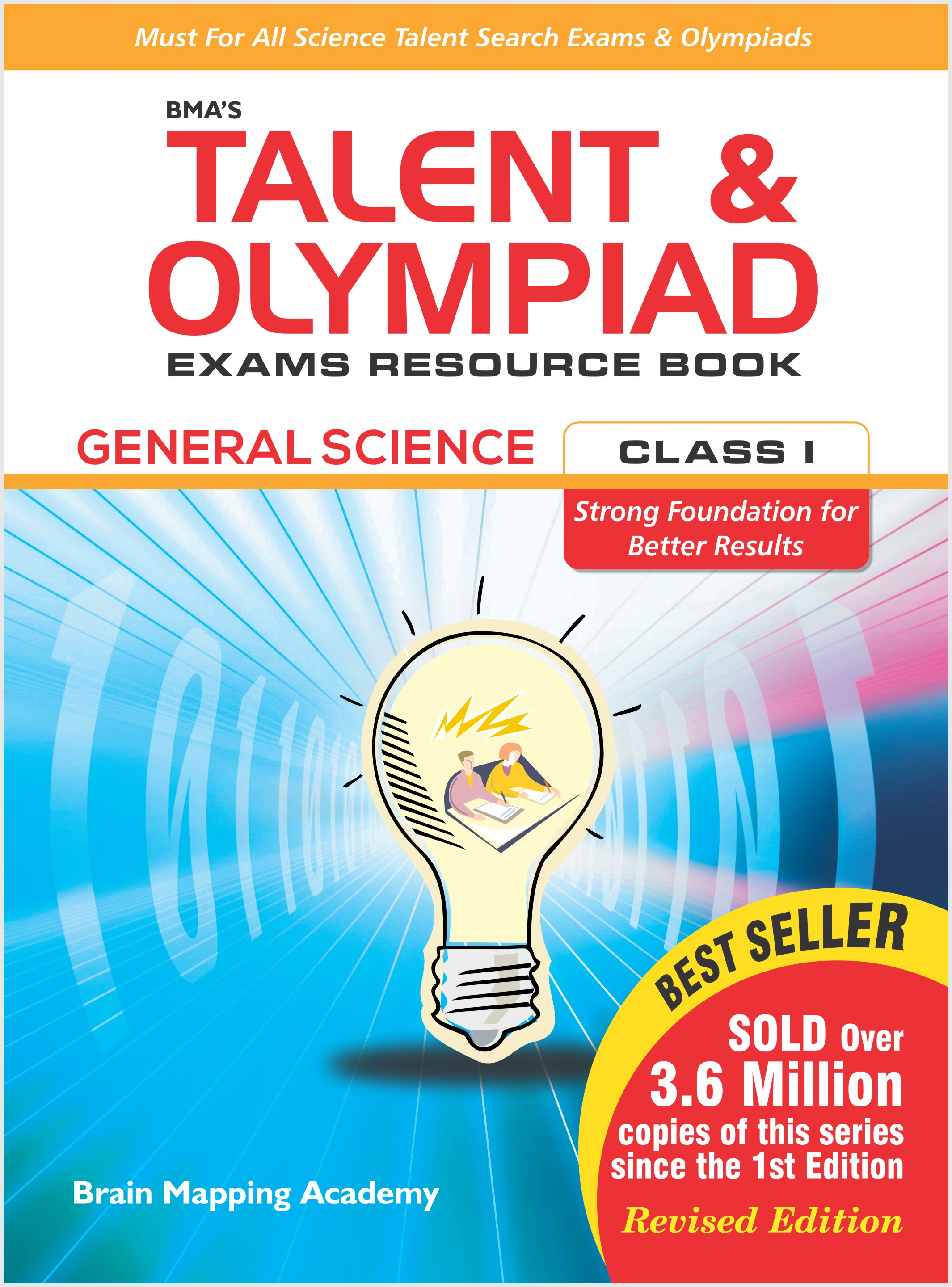 BMA's Talent & Olympiad Exams Resource Book for Class-1 (EVS)