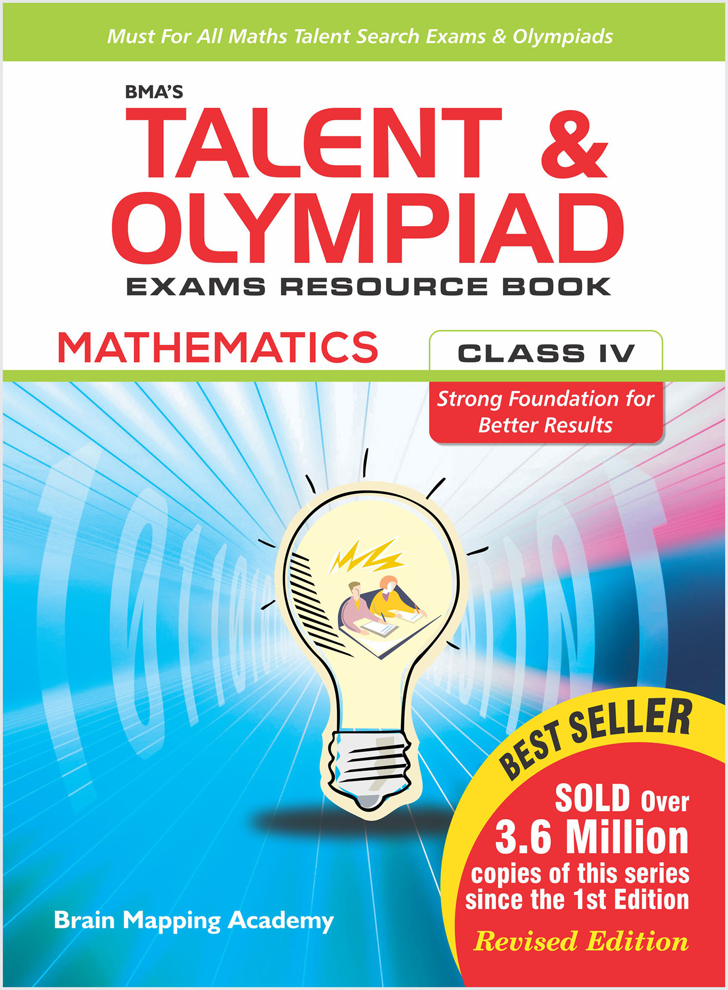 BMA\'s Talent & Olympiad Exams Resource Book for Class-4 (Maths ...