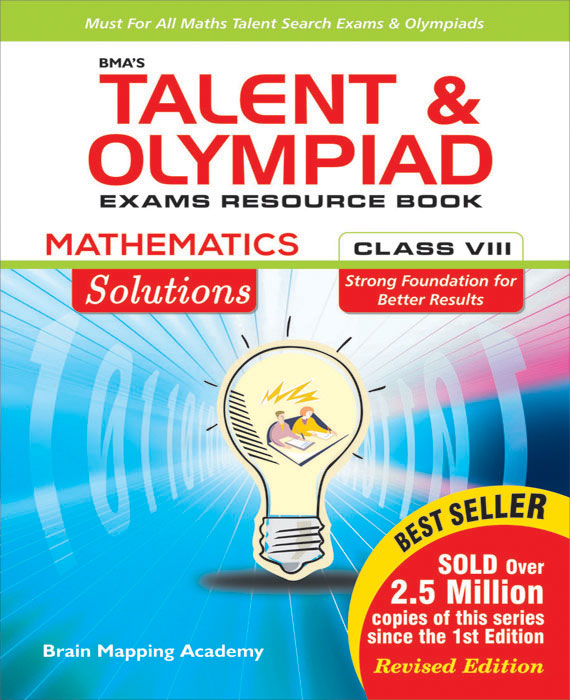 Solutions Book for the Talent & Olympiad Exams Resource Book  class-8-Mathematics ( Downloadable E-Book)