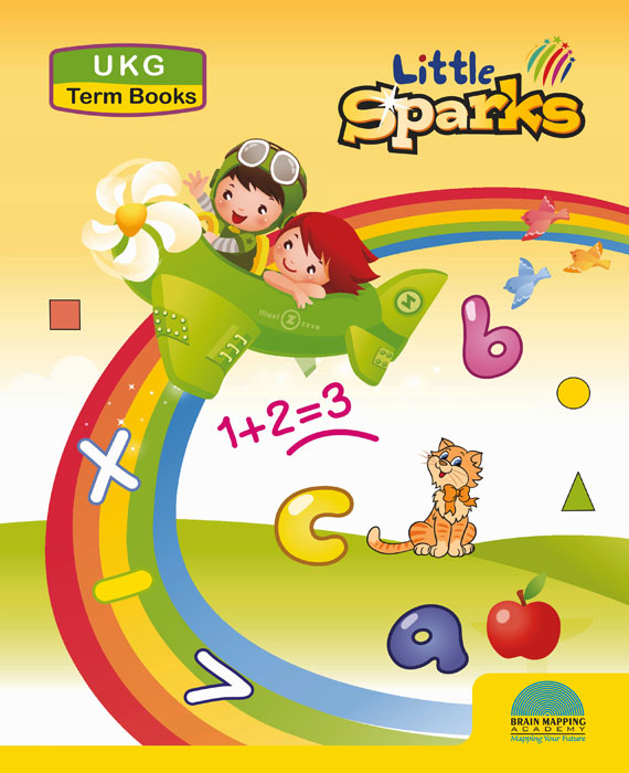 Little Sparks Term books for UKG (Set of 3 books)