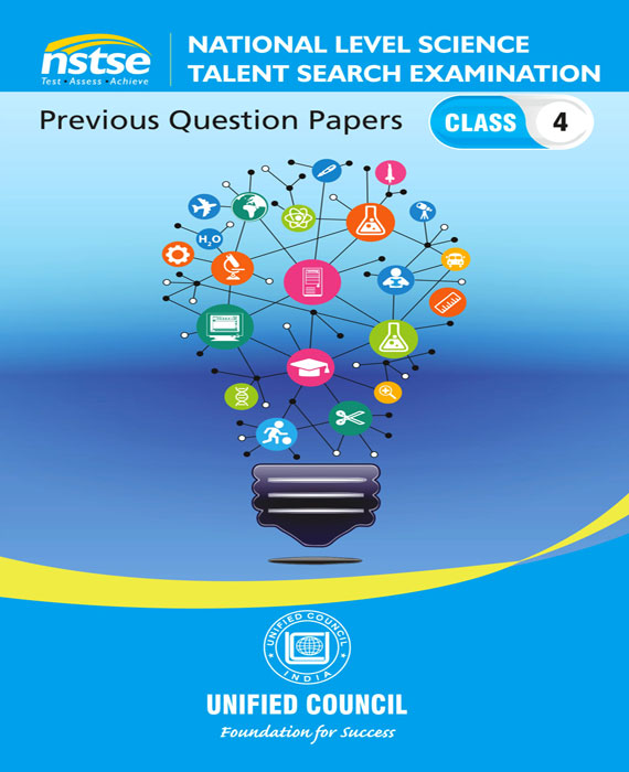 NSTSE-10 Past Question Papers of Class 4 ( Downloadable E-Book)